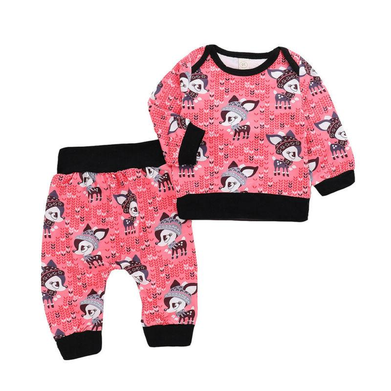 2PC Baby Girls Little Sleeve Top Set B1 Lot