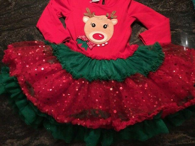 Emily Rose Reindeer Holiday Little 5 NEW