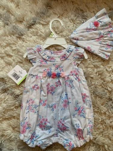 Little Me Baby Girl Romper 3mo