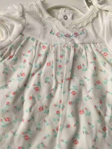 Little Me Dress Outfit Size Months Floral Layette