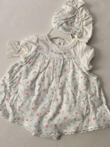 baby girls dress hat outfit set size
