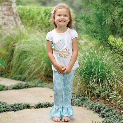 baby girls little chick pants 2 pc