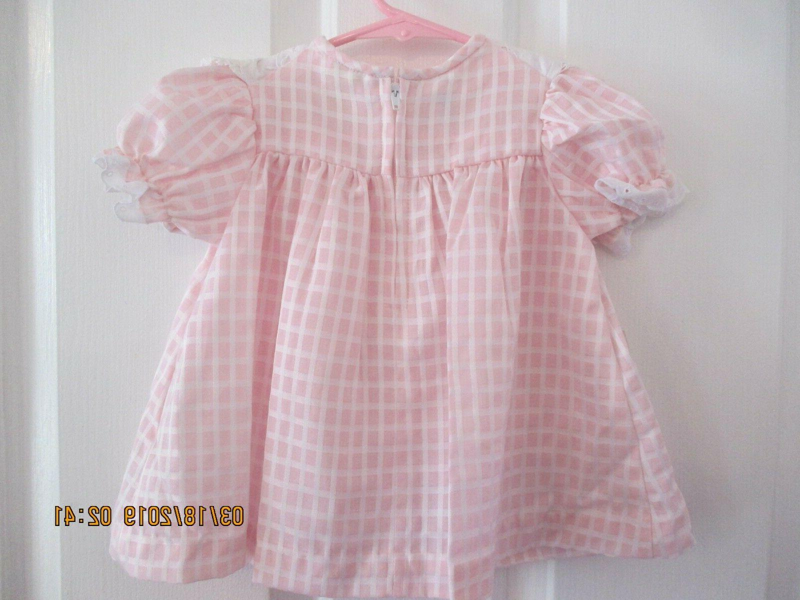 baby girls Little size 12 months dress