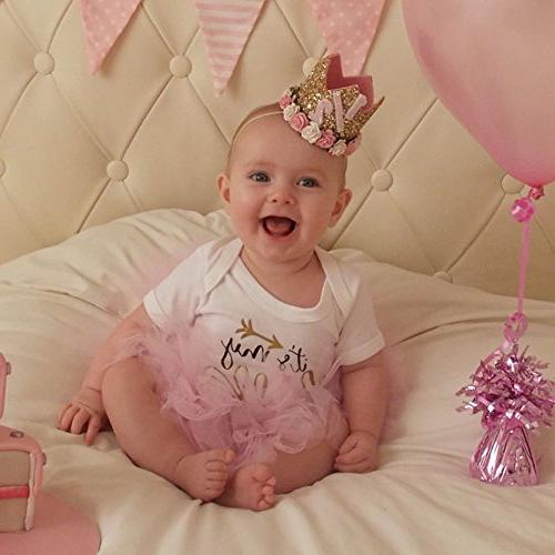 Baby Tiara Baby Style with Artificial Flower