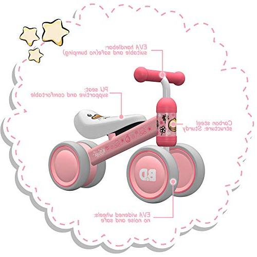 YGJT Bicycle Baby Rides Months First First Gift Duck