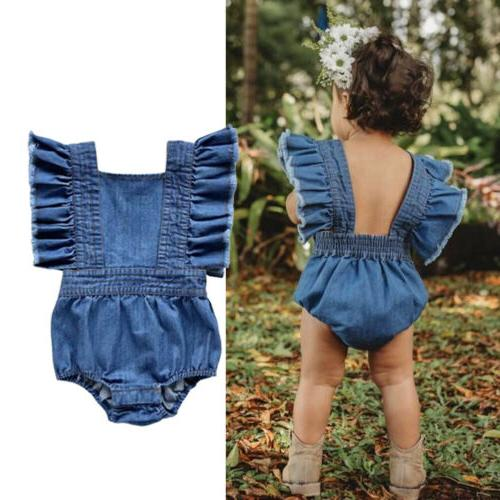 Big/Little Baby Girls Jumpsuit Romper Dresses