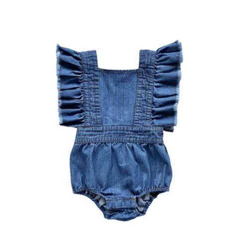 Big/Little Sister Kids Baby Girls Jumpsuit Dresses