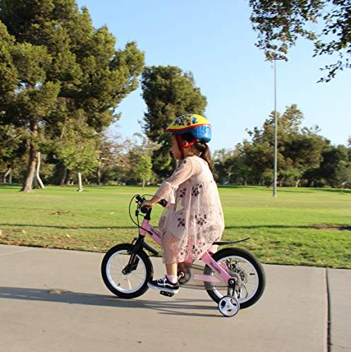 """NiceC BMX Bike with Dual Brake for and 14"""" 16"""" Wheels for 3-8"""