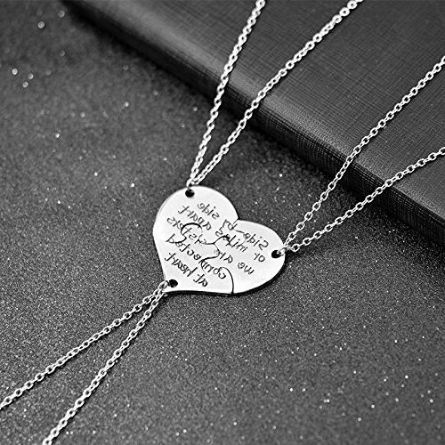 Charm.L 3 Piece of Sisters Heart