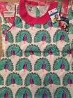 Child's Dress, adorable peacocks, Little Bitty,  for 6-7 Yea