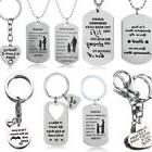 Christmas Gifts For Mum Dad Son Daughter Necklace Keyring Mo