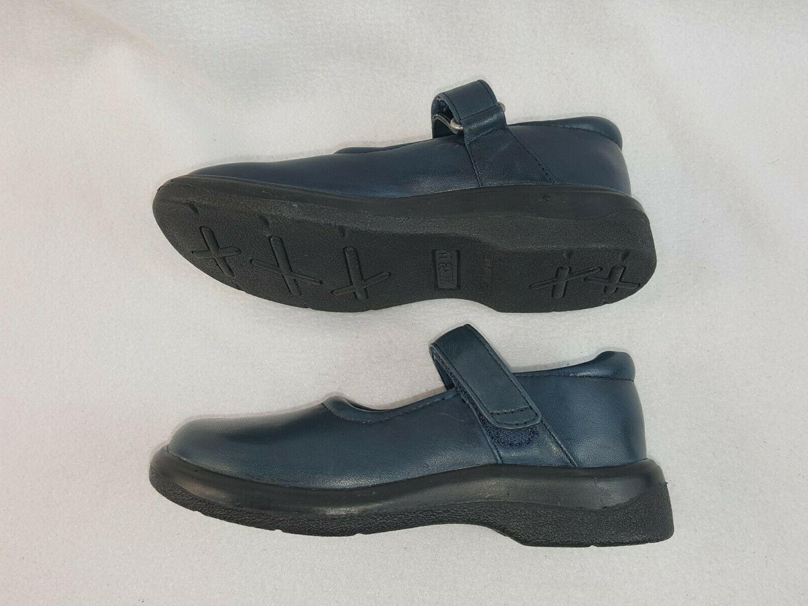 Girls Mary Shoes, Navy