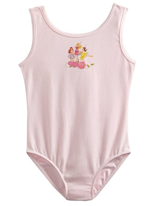 Disney Princess by Capezio Little Girls' Scoop Neck Tank Leo