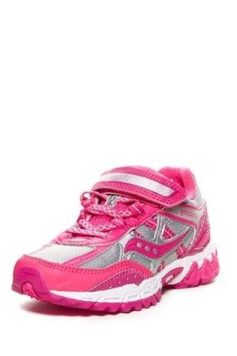 Saucony Excursion Trail Running Sneaker Little Girls Size 2M