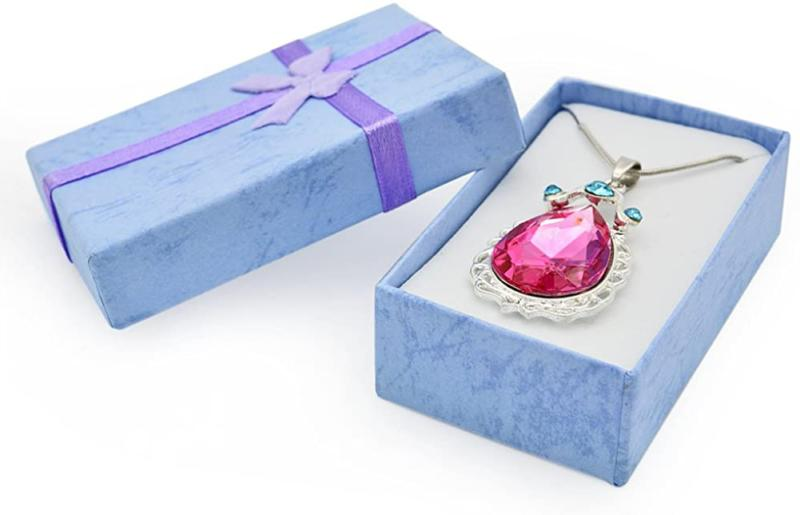 Vinjewelry First Birthday Pink Necklace Gift For Gi