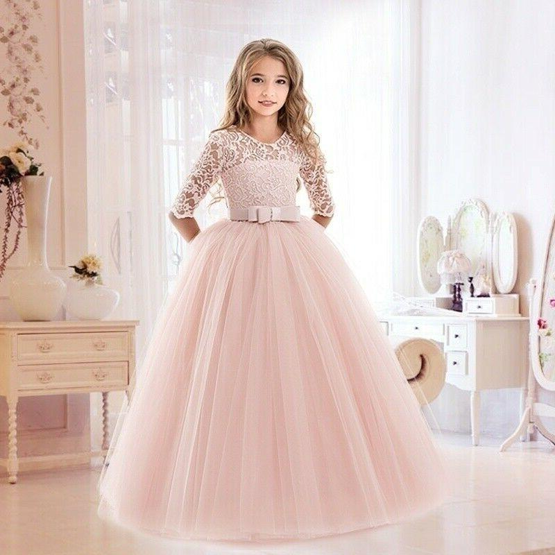 flower girls dresses for wedding lace little