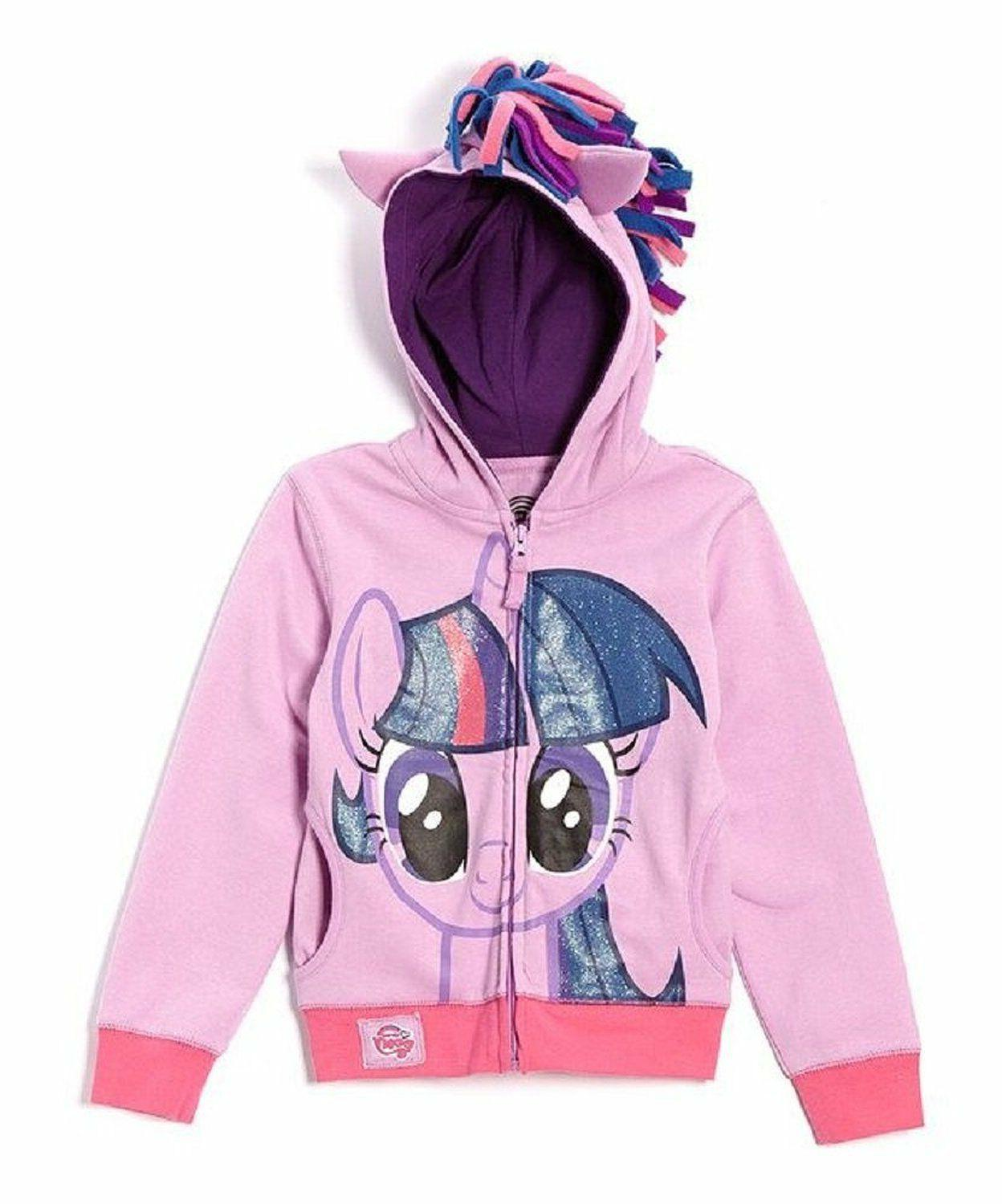 FREEZE My Little Pony Twilight Sparkle Girls Hoodie Purple S