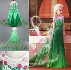 Frozen Elsa Princess Anna Little Girl Dress Costume Princess
