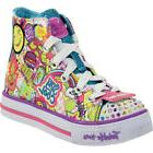 Skechers Girl's Twinkle Toes Trendy Talk Multi Light Up Snea