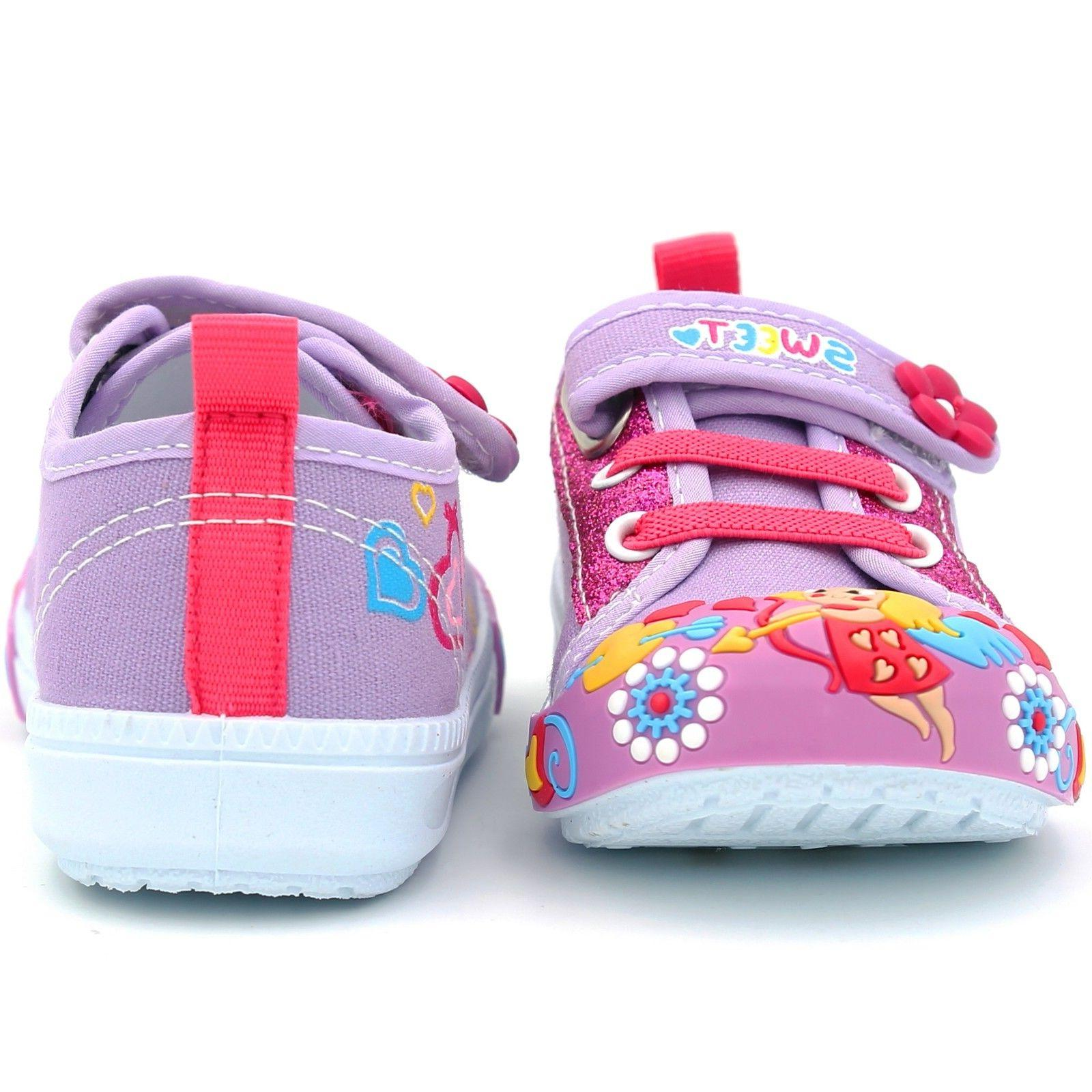 Girls Infant Kid Baby Flower Soft Sole