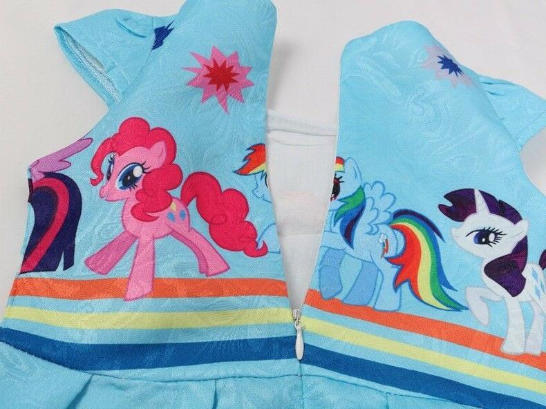 Girls Dress Kids My Summer Casual Party L10