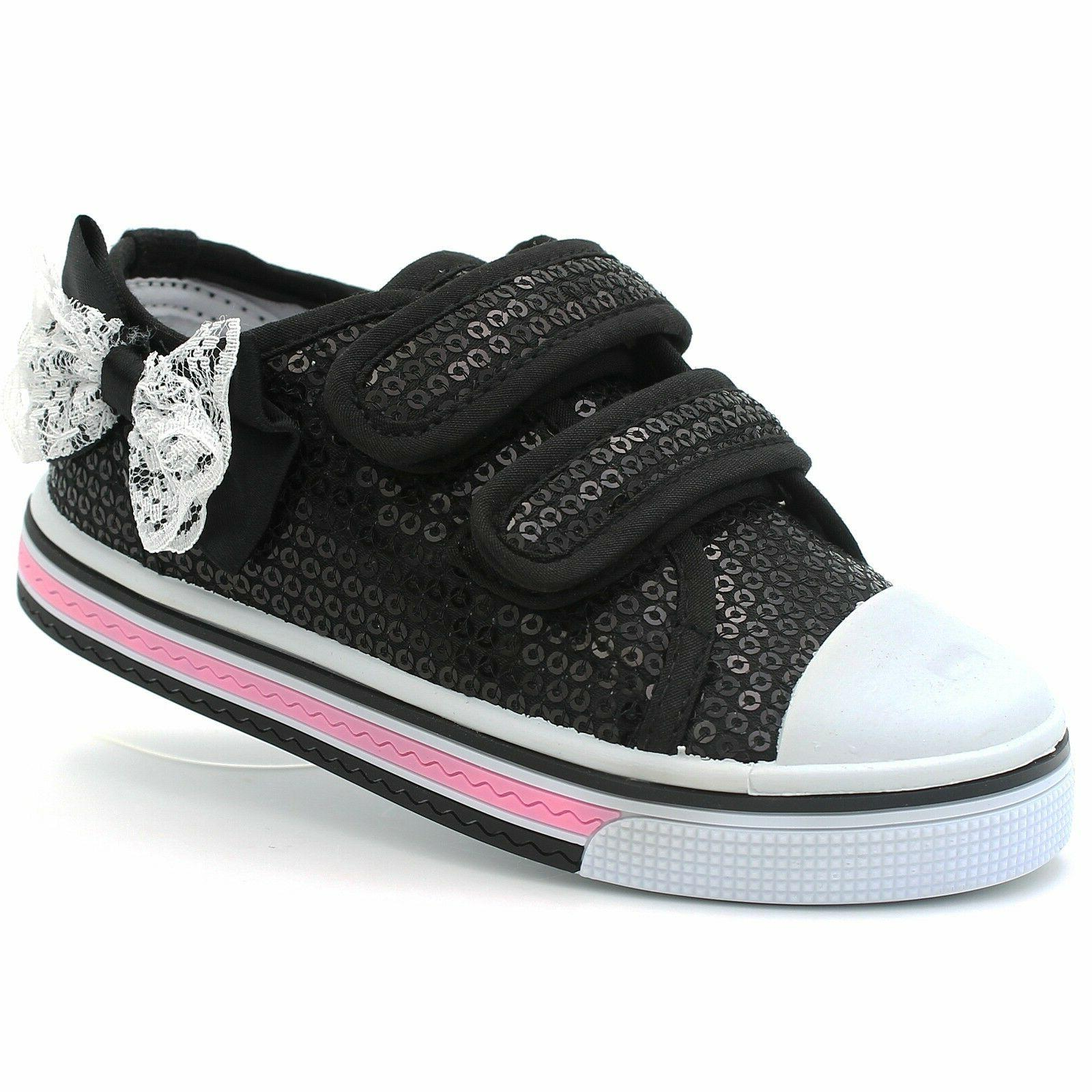 Girls Toddler Canvas Baby Sole