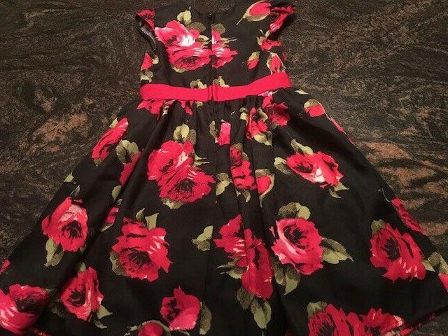 GORGEOUS Red Bow Little Party Dress NEW