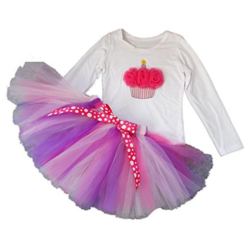 kid girl 5th birthday tutu princess dress
