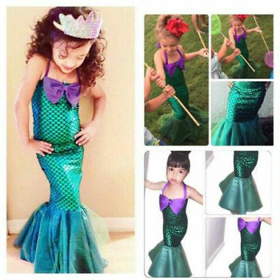 Kid Cute Mermaid Party Outfits