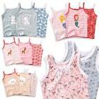 "Vaenait Baby Kids Girls 100% Cotton 3pcs Undershirts Set ""Ta"