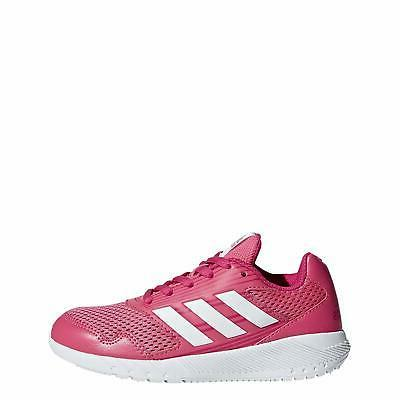 Kids Adidas Girls Altarun Low Top Lace Up Running, Pink, Siz