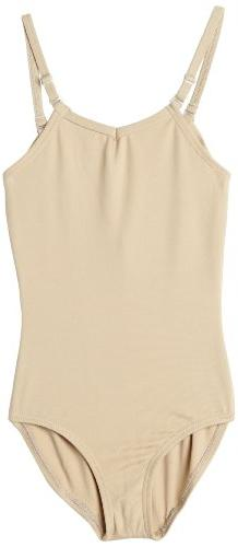 Capezio Little Girls' Camisole Leotard W/ Adjustable Straps,