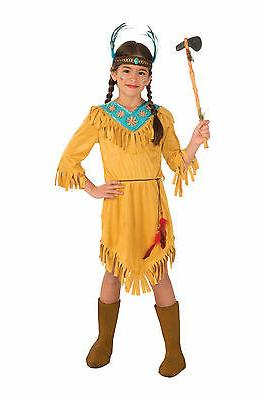 Little Flower Native American Girl Costume Western Thanksgiv