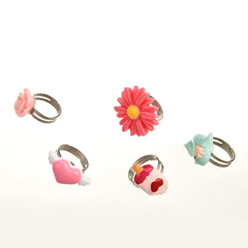 PinkSheep Rings in No Girl Play Dress Rings