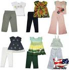 little girls 2 piece short sleeve