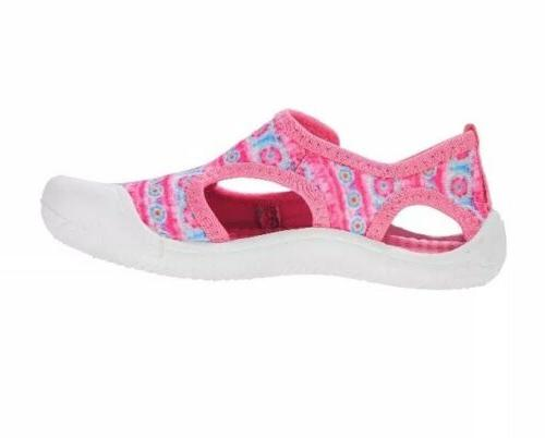 Athletic Little Girls' Bump Toe Water Shoes Size