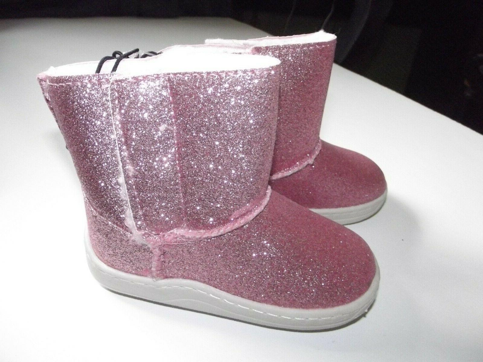 Little Easy Lightweight Boots~PINK~SIze 6~Shearling