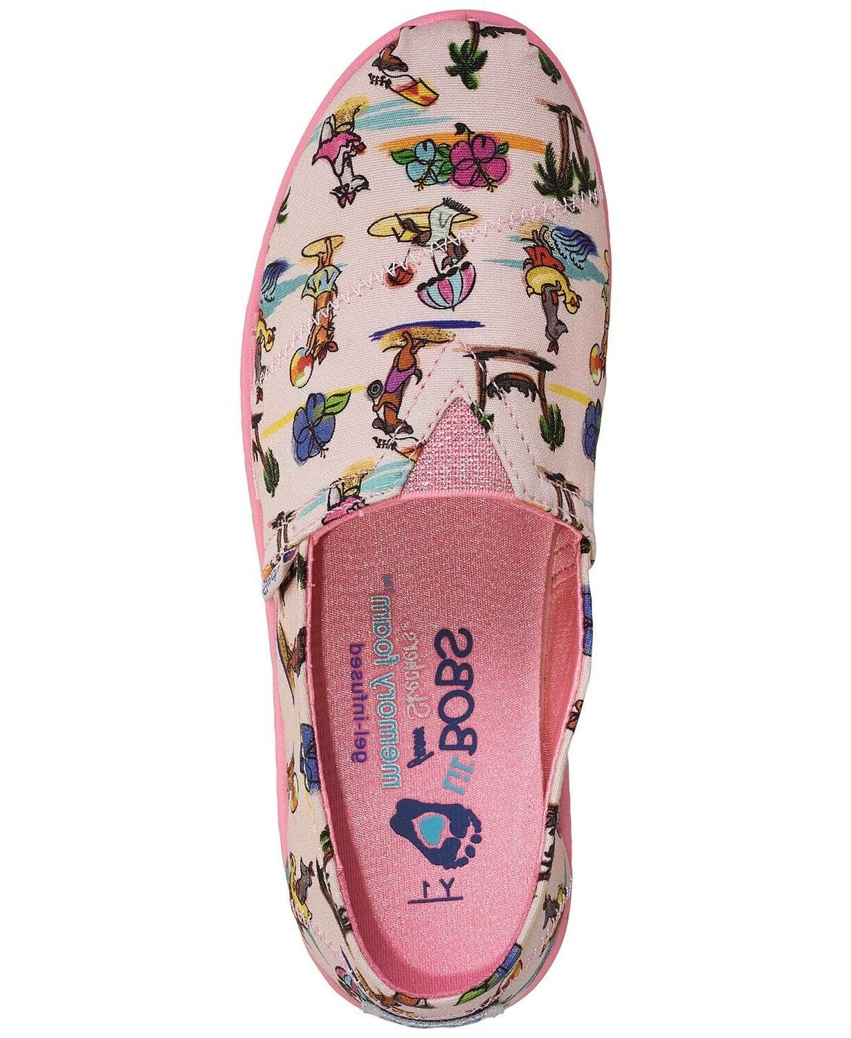 Skechers Lil' BOBS Solstice 2.0 Pups Slip-On Casual