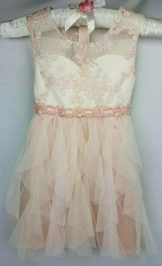 Rare Editions Pink Dress Size Formal