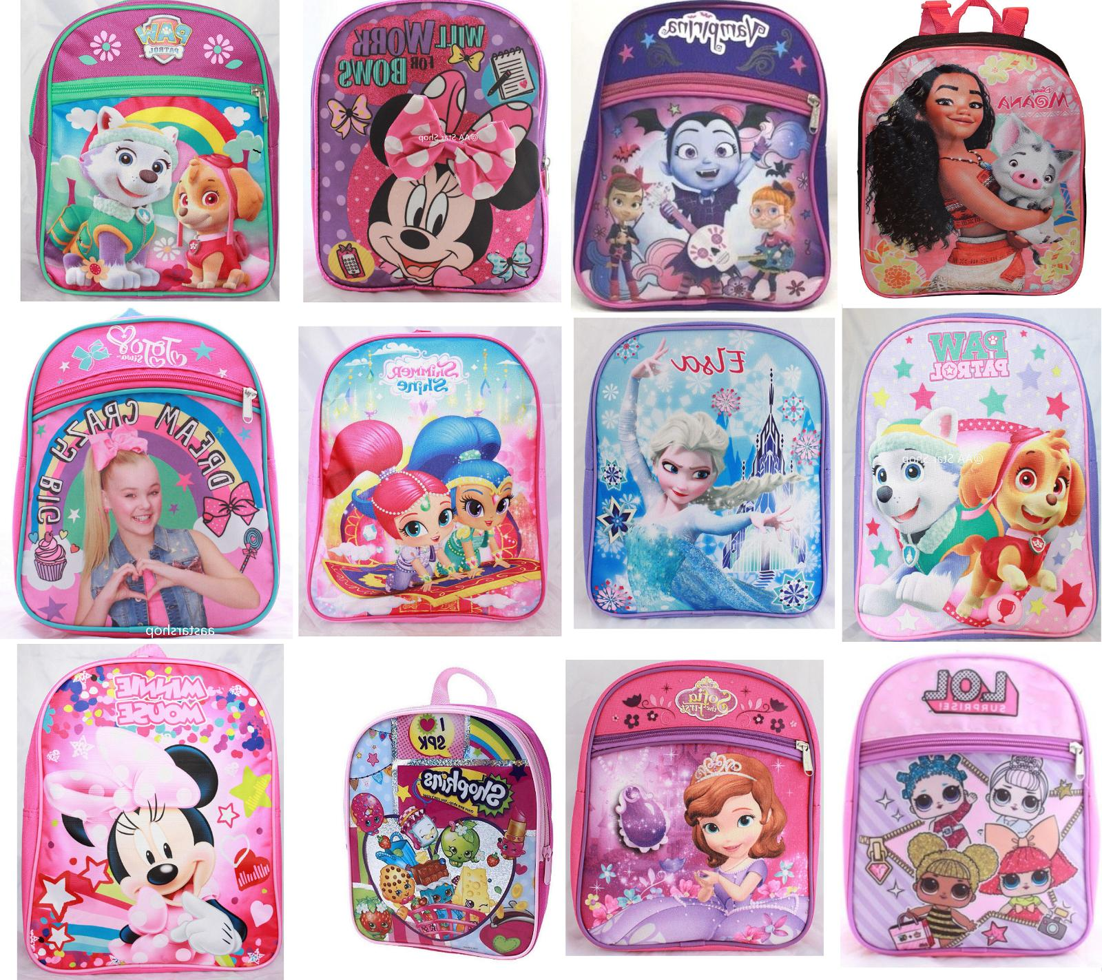 Little School Backpack Book Kids
