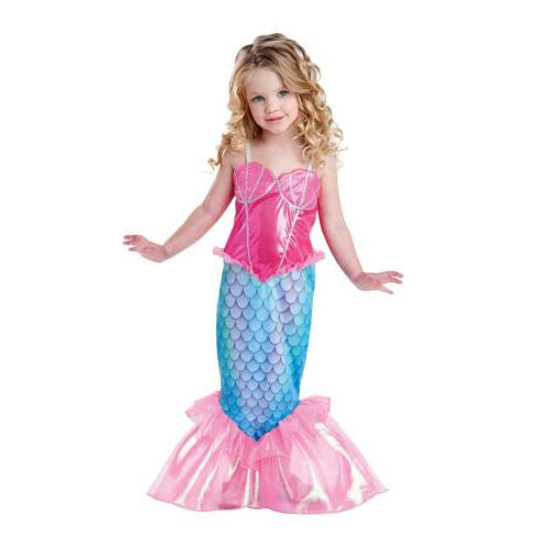 Little Mermaid Ariel Toddler Girls Costume Pink Halloween Co