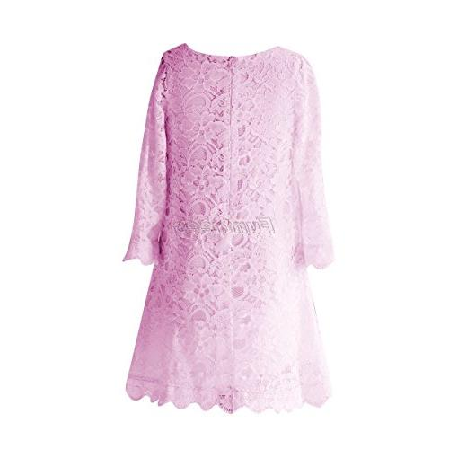 Funtrees Miss Lace Overlay A-Line Dress