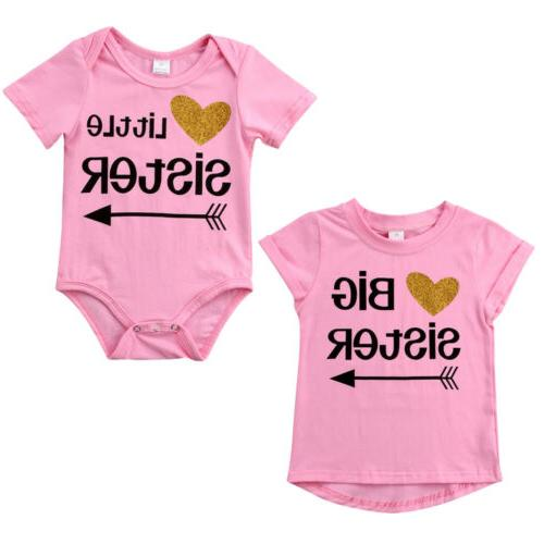 Little Sister Romper Sister Tee Outfits