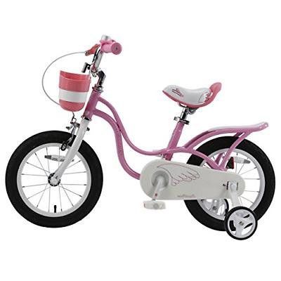 Royalbaby Girl's inch Wheels, Pink and White