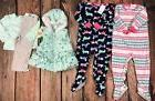 Lot Girls Clothes Carters Sleepers Little Me Outfit Fall Win