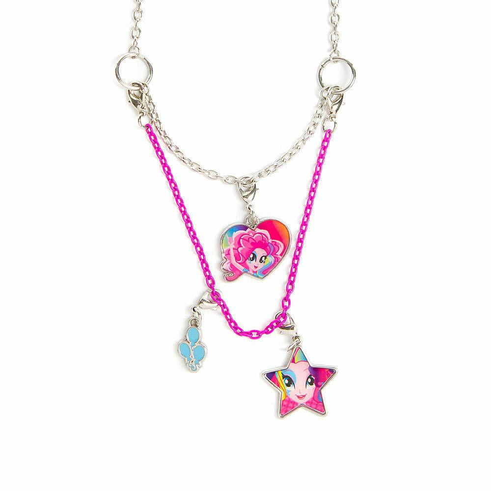 My Little Pony Equestria Girls Pinkie Pie Necklace 3 in 1 Ha