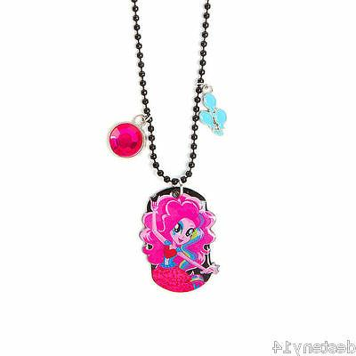 My Little Pony Equestria Girls Pinkie Pie Dog Tag Pendant Ne