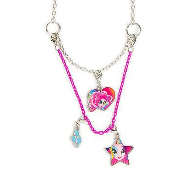 My Little Pony Pinkie Pie Necklace Equestria Girls 3 in 1 Ha