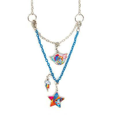 My Little Pony Rainbow Dash Necklace Equestria Girls 3 in 1