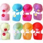 NEW CUTE LITTLE GIRL'S TEA PARTY FAVOR DRESS UP HAT AND BAG